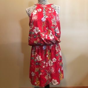 Parker Larissa Dress-Red Sangria-NWT-M-Retail $378